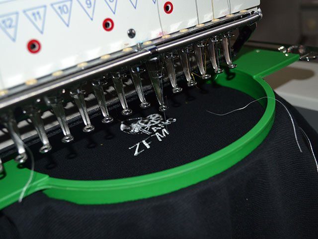 Embroidery | Ateljee | Web Design, Clothing, Engraving & Signs