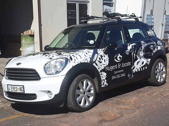 Vehicle Wrap   Ateljee   Web Design, Clothing, Engraving & Signs