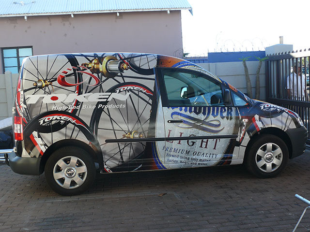 Vehicle Wrap | Ateljee | Web Design, Clothing, Engraving & Signs